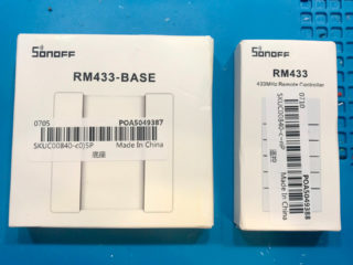 SONOFF RM433 Remote Controller + BASE