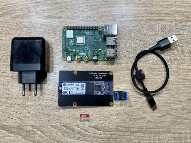 Установка Home Assistant на Raspberry Pi 4. Загрузка и работа с внешнего SSD